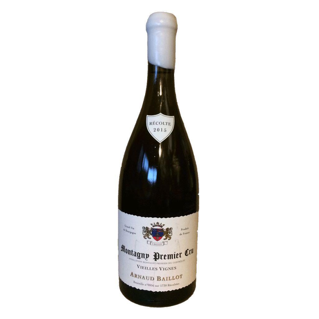 Wine Arnaud Baillot Montagny Premier Cru Vieilles Vignes 2015