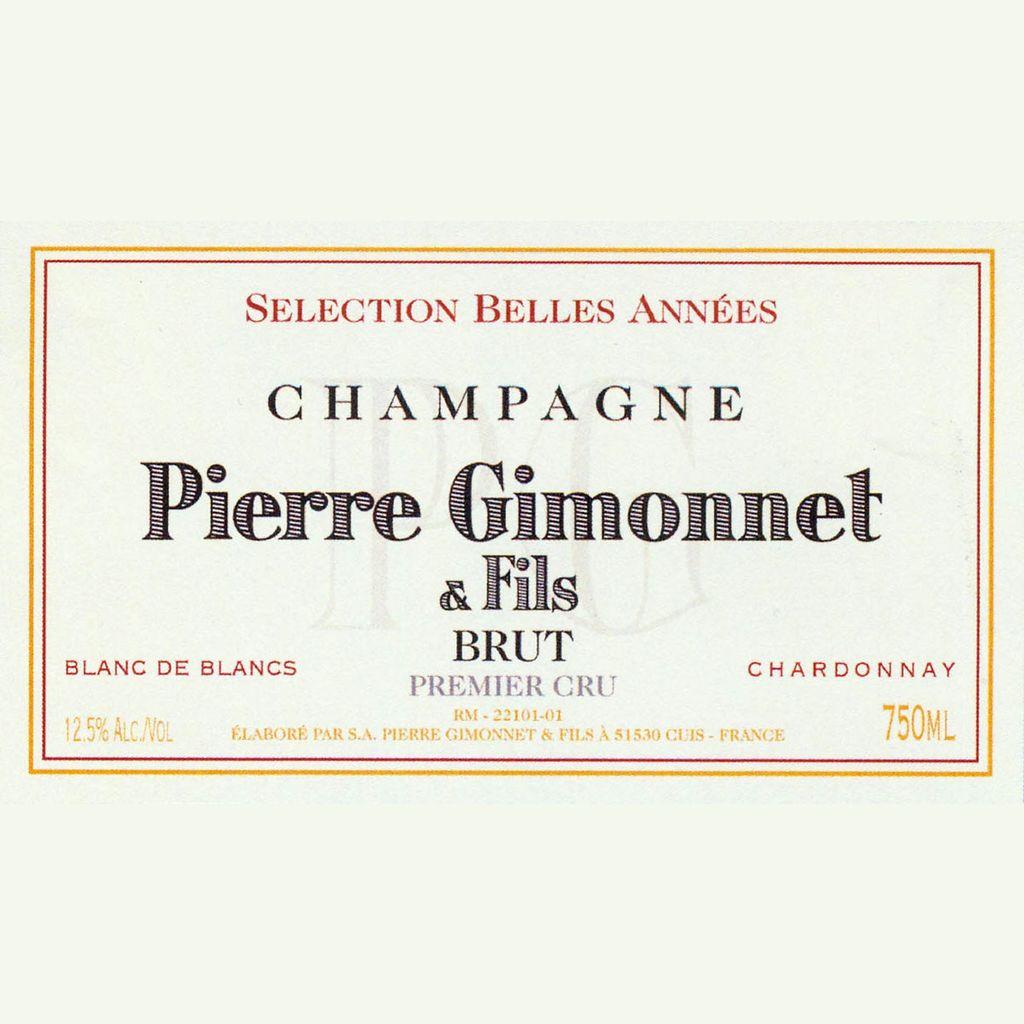 Sparkling Pierre Gimonnet & Fils Brut Premier Cru Selection Belles Annees Blanc de Blancs