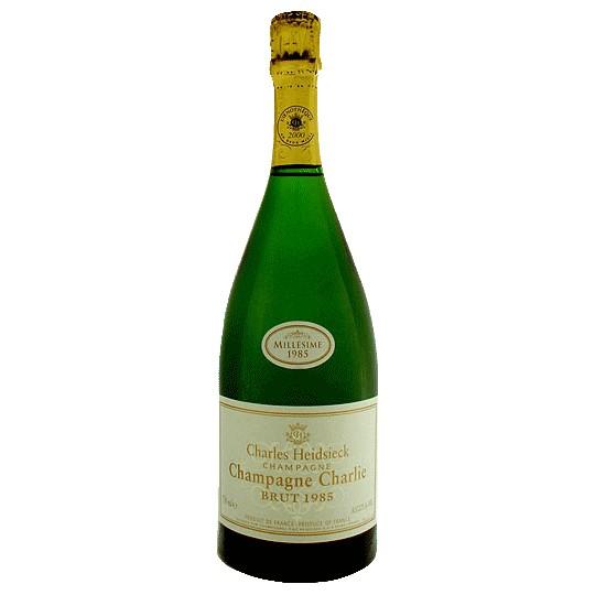 Sparkling Charles Heidsieck Brut Cuvee Charlie Champagne 1985