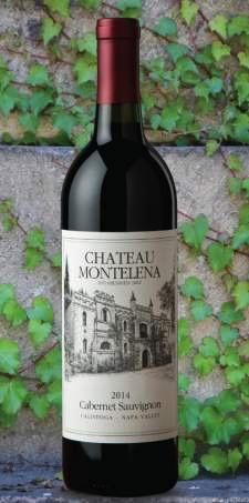 Wine Chateau Montelena Cabernet Sauvignon Calistoga Napa Valley 2014