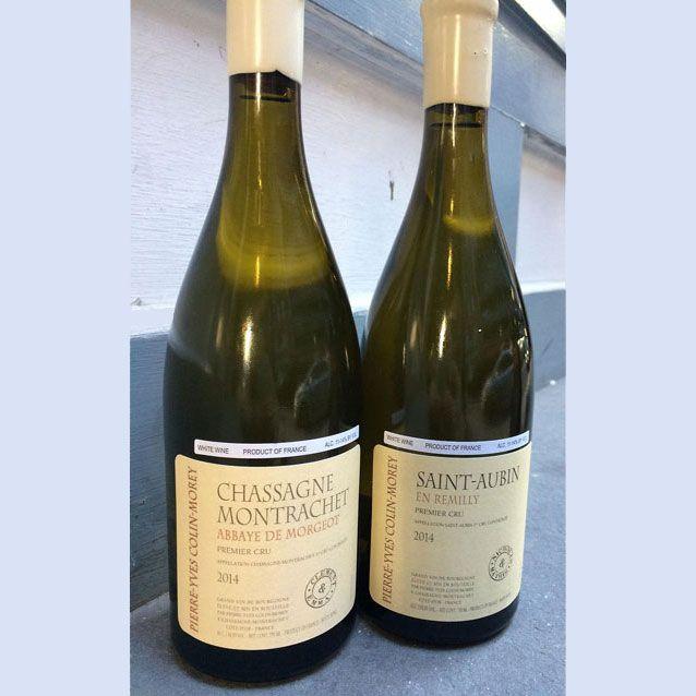 "Wine Pierre-Yves Colin-Morey Saint Aubin En Remilly Premier Cru ""Nicholas & Mathis"" 2014"