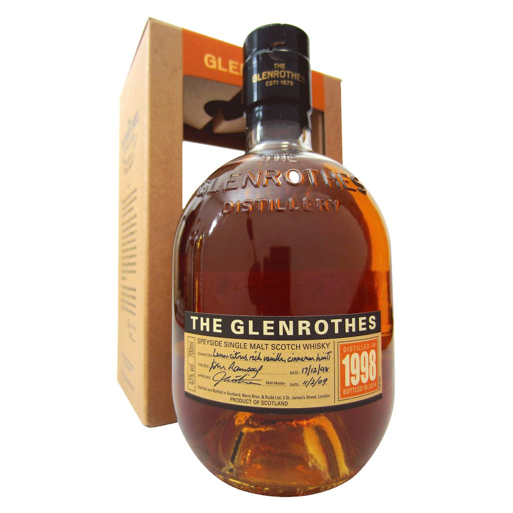 Spirits Glenrothes Scotch Single Malt 1998