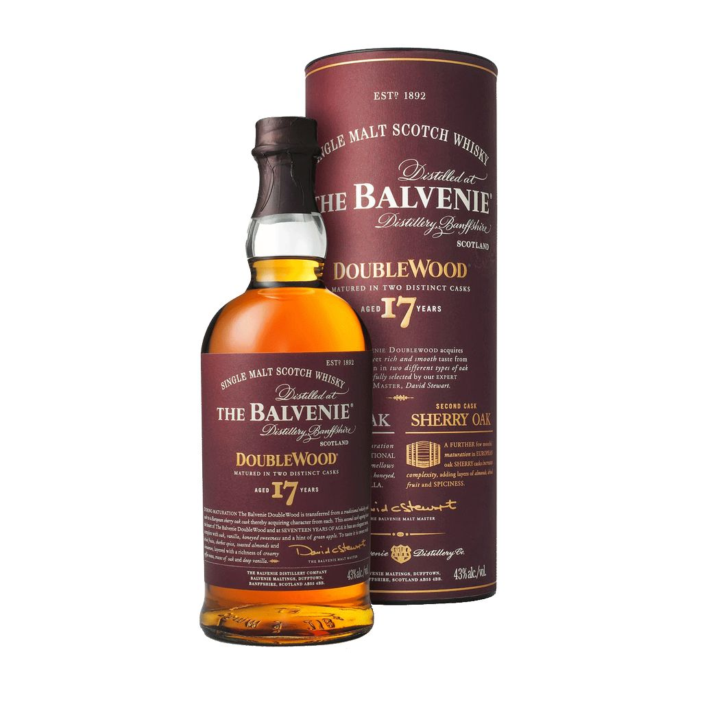Spirits The Balvenie Scotch Single Malt 17 Year Doublewood
