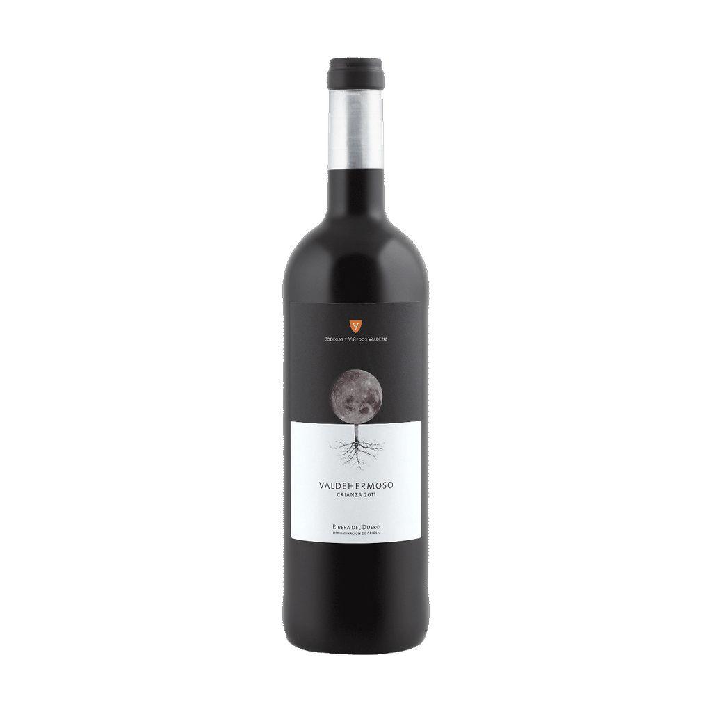 Wine Bodegas Y Vinedos Valderiz Valdehermoso Crianza 2012