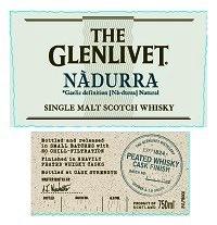 Spirits The Glenlivet Scotch Single Malt Nadurra Peated Whisky Cask Finish Cask Strength
