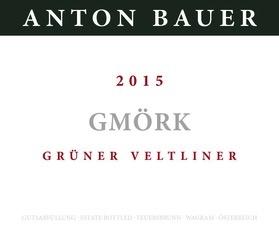 Wine Anton Bauer Gruner Veltliner Gmork 2015