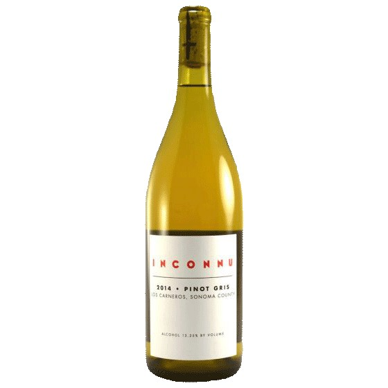 Wine Inconnu Los Carneros Pinot Gris 2014