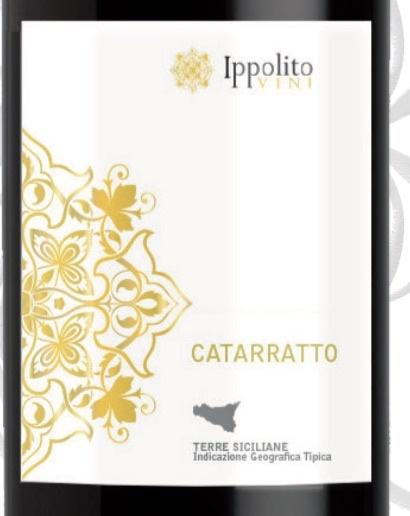 Wine Cantine Ippolito Catarrato 2015