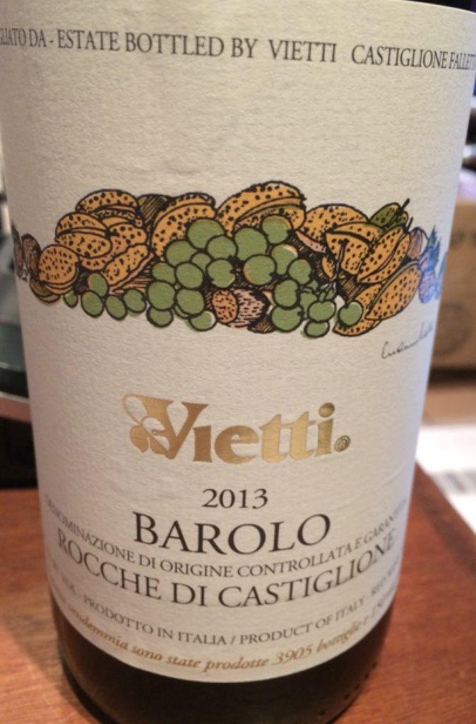 Wine Vietti Barolo Rocche di Castiglione 2013
