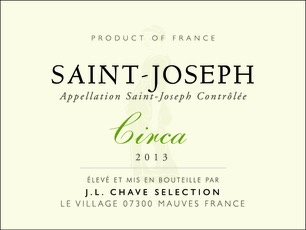 Wine Jean-Louis Chave Selection Saint Joseph Blanc Circa 2014