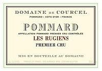 Wine Domaine de Courcel Pommard Premier Cru Les Rugiens 2013