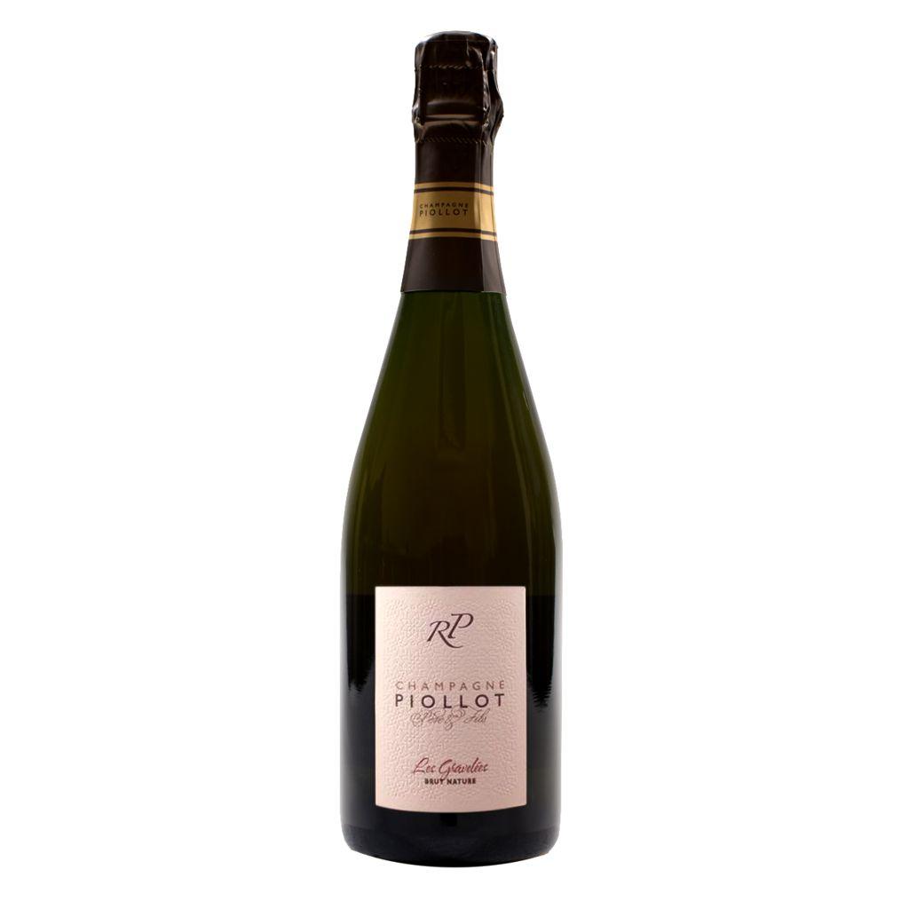 Sparkling Piollot Champagne Brut Nature Les Gravelees Rosé 2006