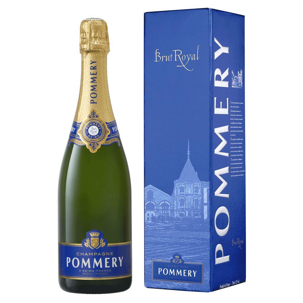 Sparkling Pommery Champagne Brut Royal Gift Box