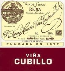 Wine Lopez de Heredia Rioja Vina Cubillo Crianza 2008