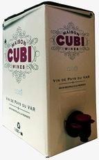 Wine Maison Cubi Rose de Provence 2016 3L in a Box