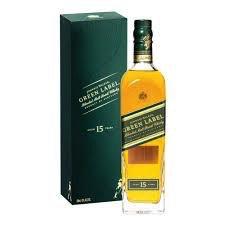 Spirits Johnnie Walker Green Label Scotch Gift Box
