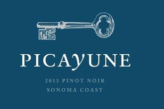 Wine Picayune Pinot Noir Sonoma Coast 2013