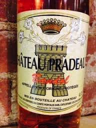 Wine Chateau Pradeaux Bandol Rose 2016