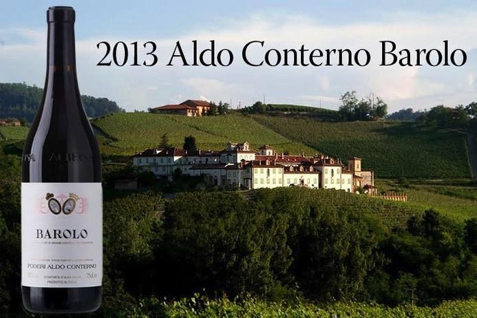 Wine Aldo Conterno Barolo 2013