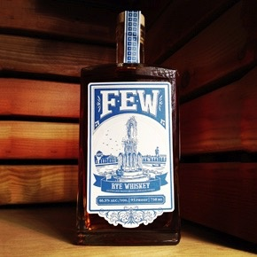 Spirits FEW RYE WHISKEY