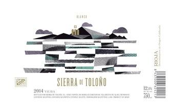 Wine Sierra de Tolono Rioja Blanco Alavesa 2016