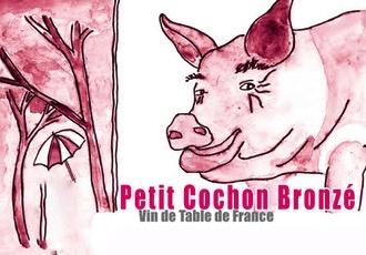 Wine Jean Marie Rimbert Petit Cochon Bronze Rose 2016