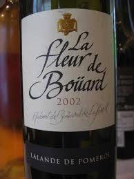 Wine La Fleur De Bouard Lalande-de-Pomerol 2002