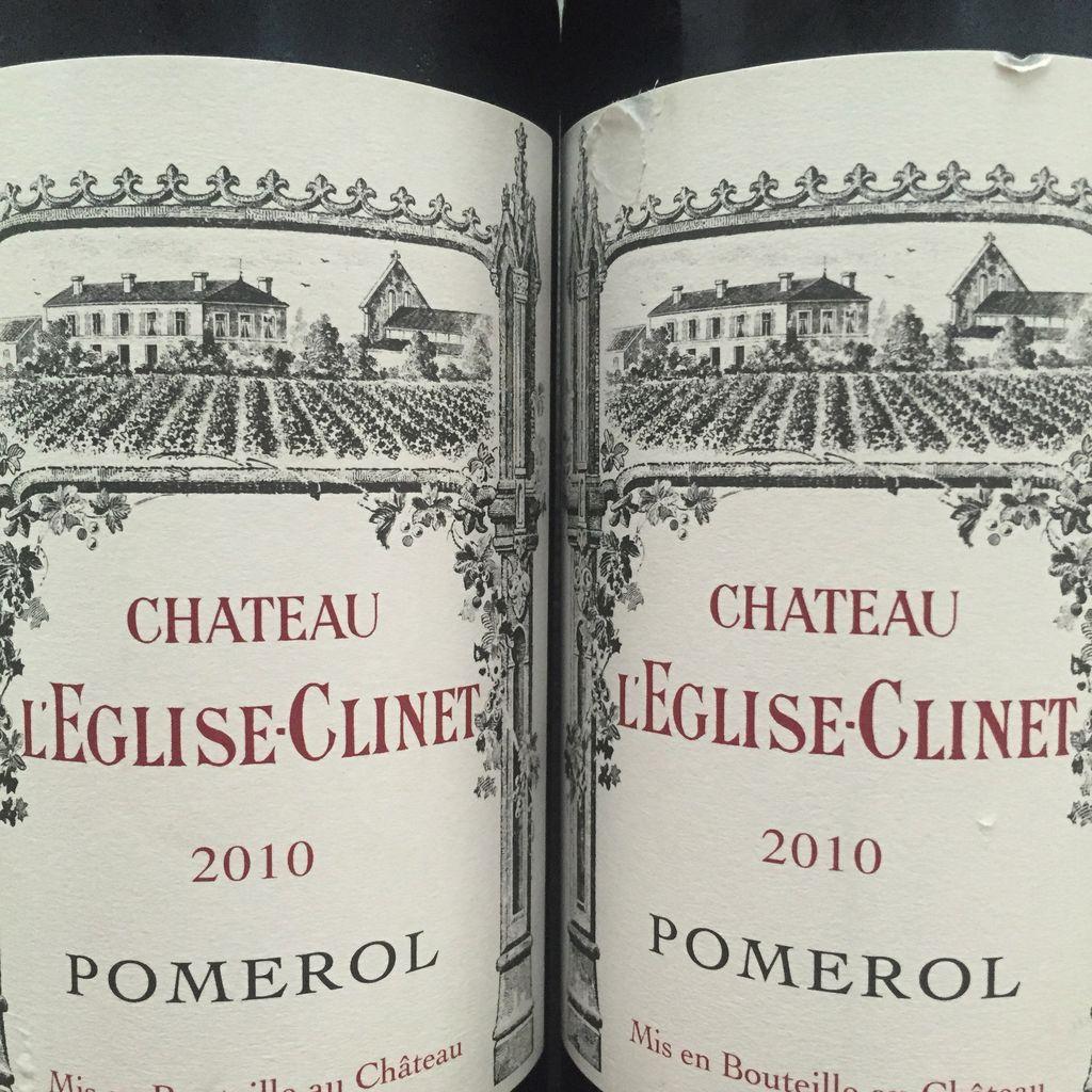 Wine Ch. l'Eglise Clinet 2010