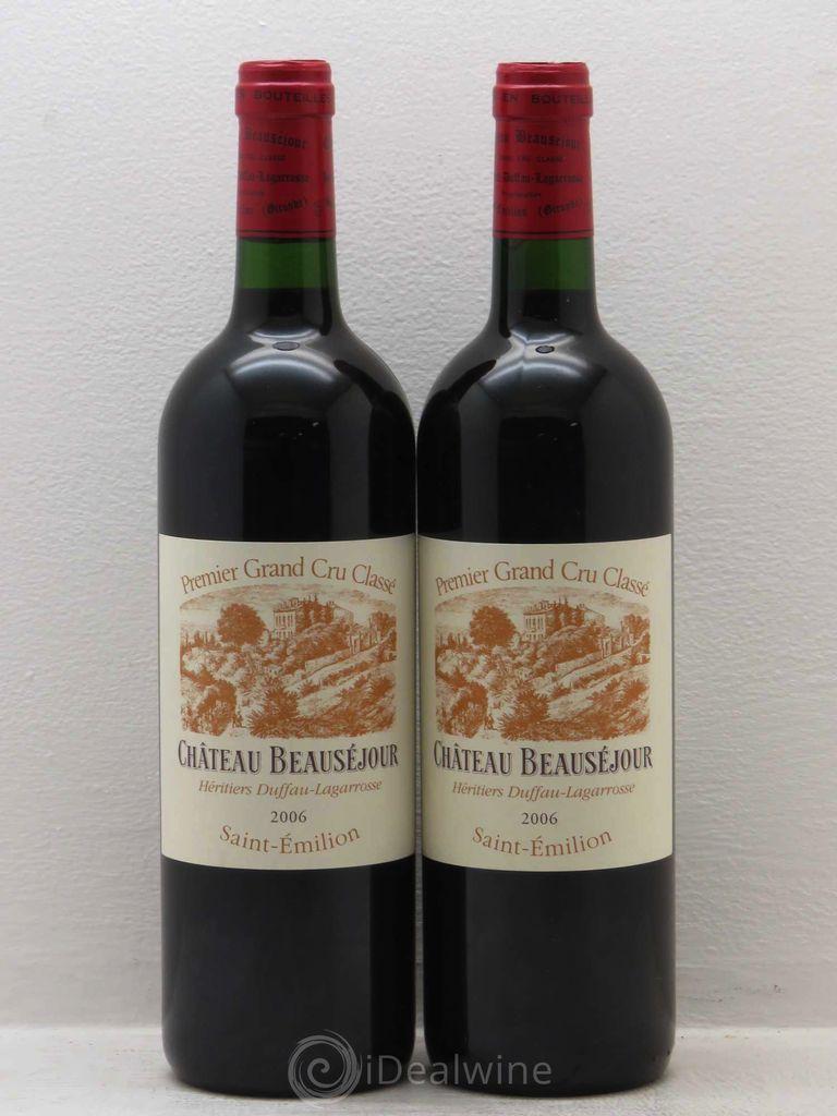 Wine Ch. Beausejour Duffau 2006
