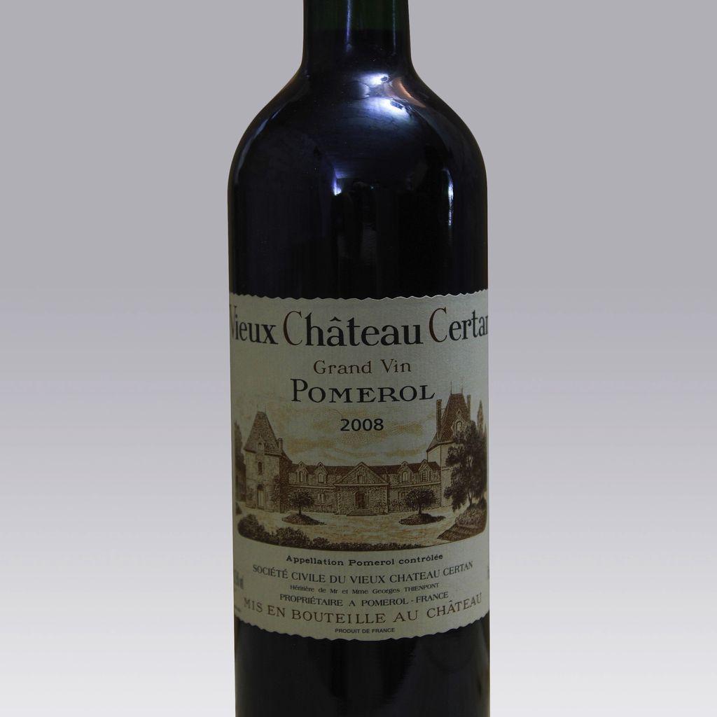 Wine Vieux Chateau Certan 2008