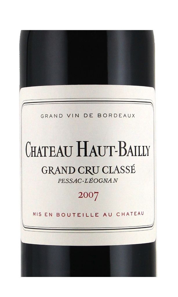 Wine Ch. Haut Bailly 2007