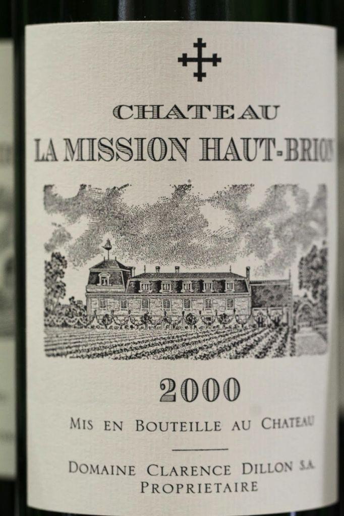 Wine Ch. La Mission Ht Brion P.L.Rg 2000