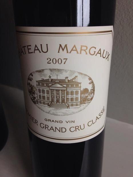 Wine Ch. Margaux 2007