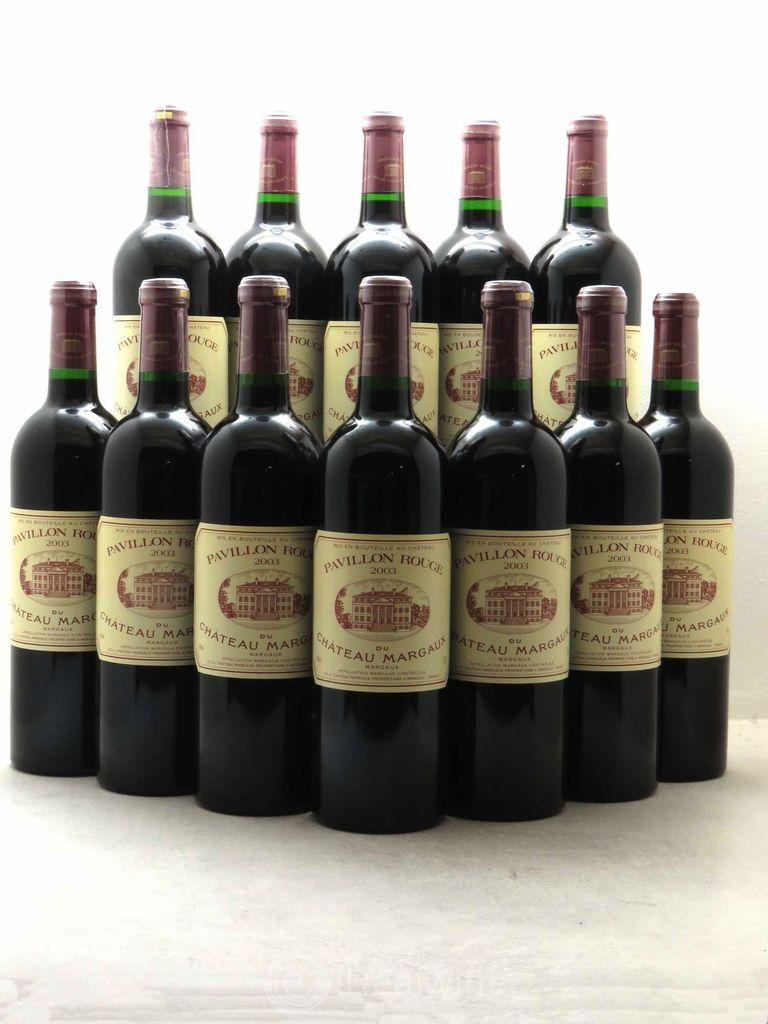 Wine Pavillon Rouge Du Ch. Margaux 2003