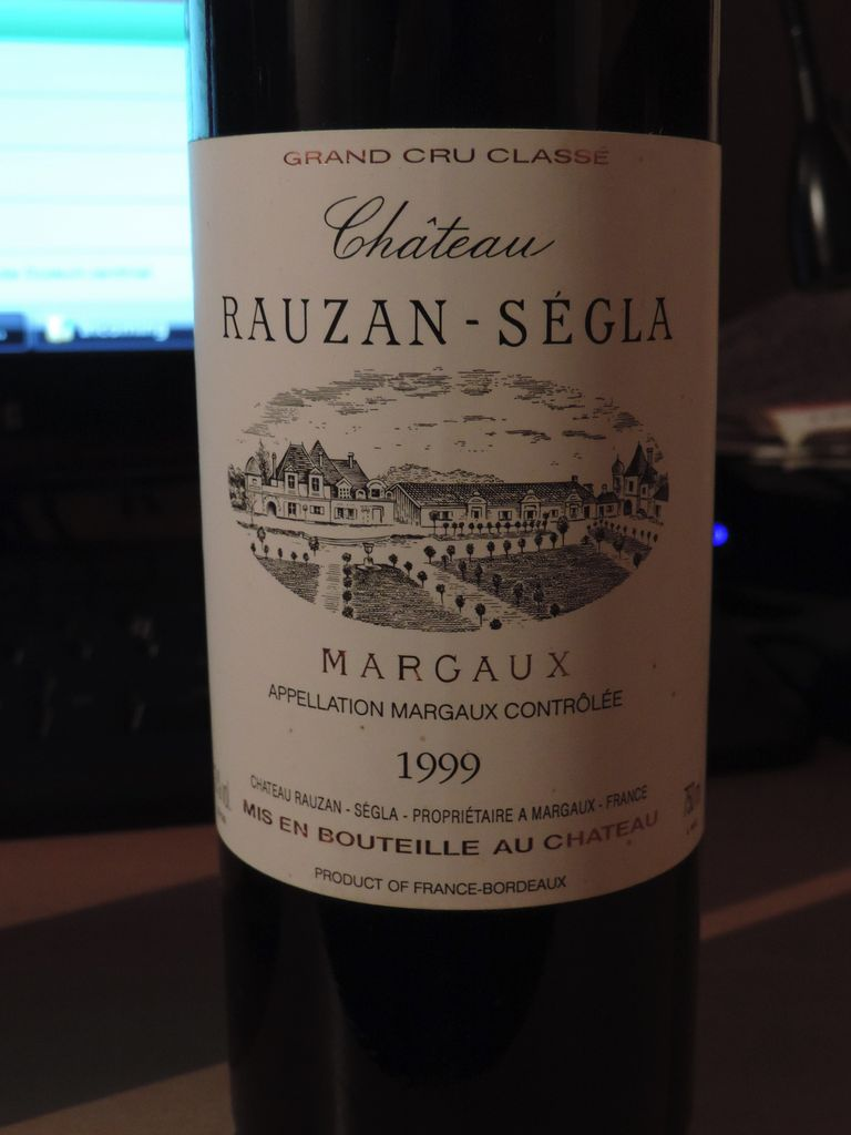 Wine Ch. Rauzan Segla 1999