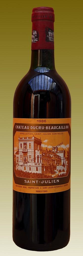 Wine Ch. Ducru Beaucaillou 1986
