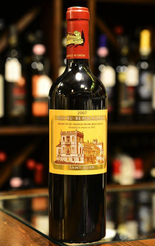 Wine Ch. Ducru Beaucaillou 2007