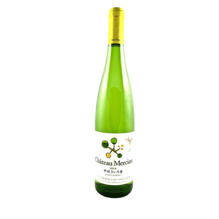 Wine Chateau Mercian Koshu Kiiroka 2014