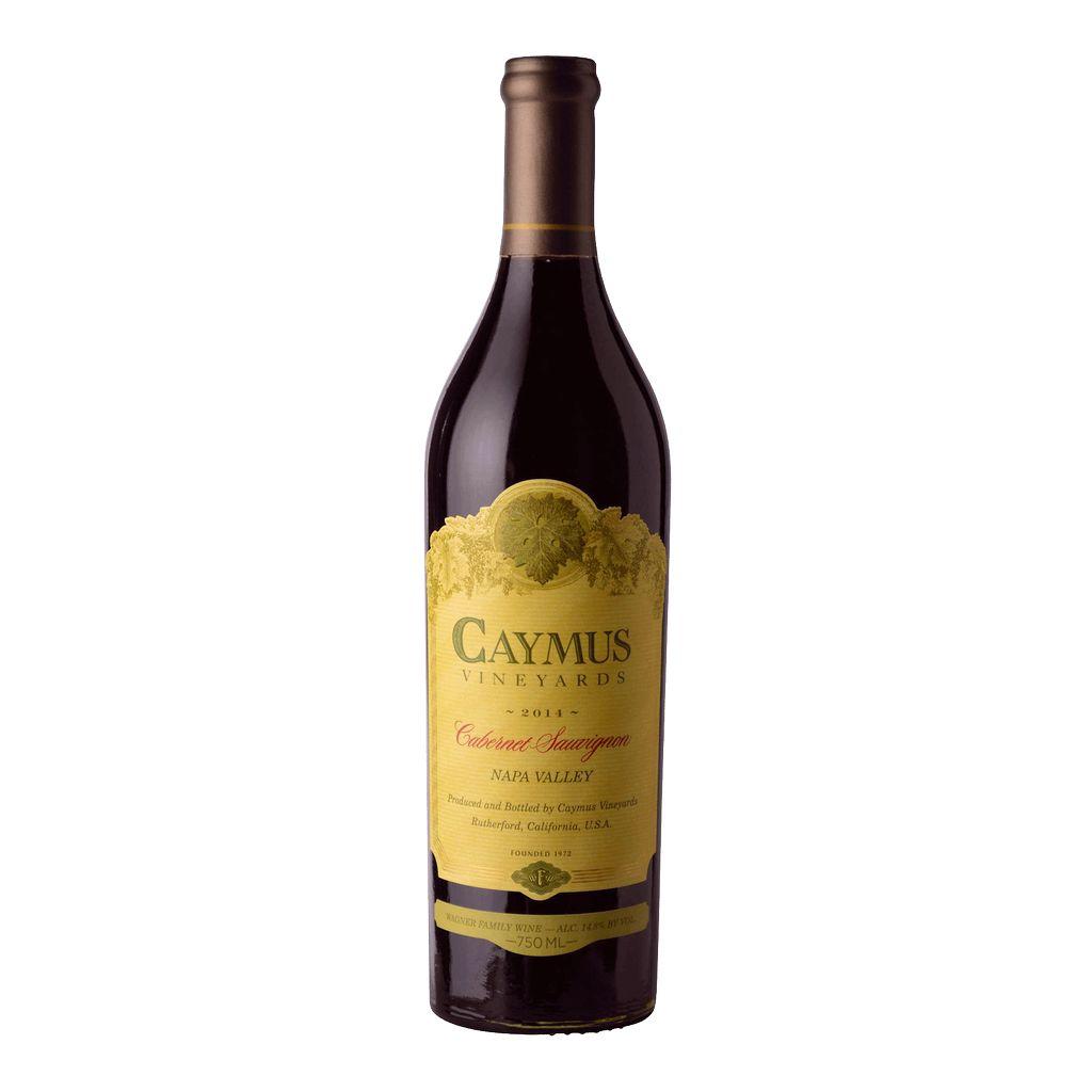 Wine Caymus Cabernet Sauvignon Napa Valley 2014