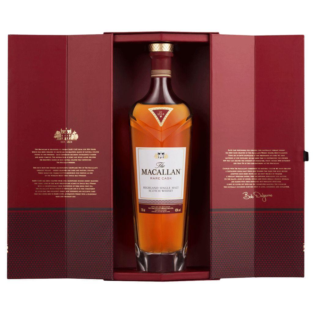 Spirits Macallan 1824 Series Scotch Single Malt Rare Cask