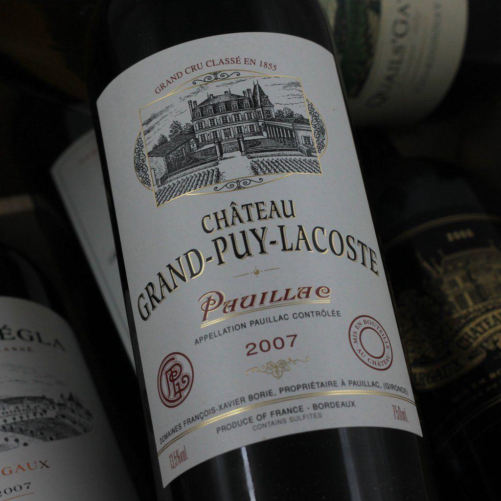 Wine Ch. Grand Puy Lacoste 2007 1.5L