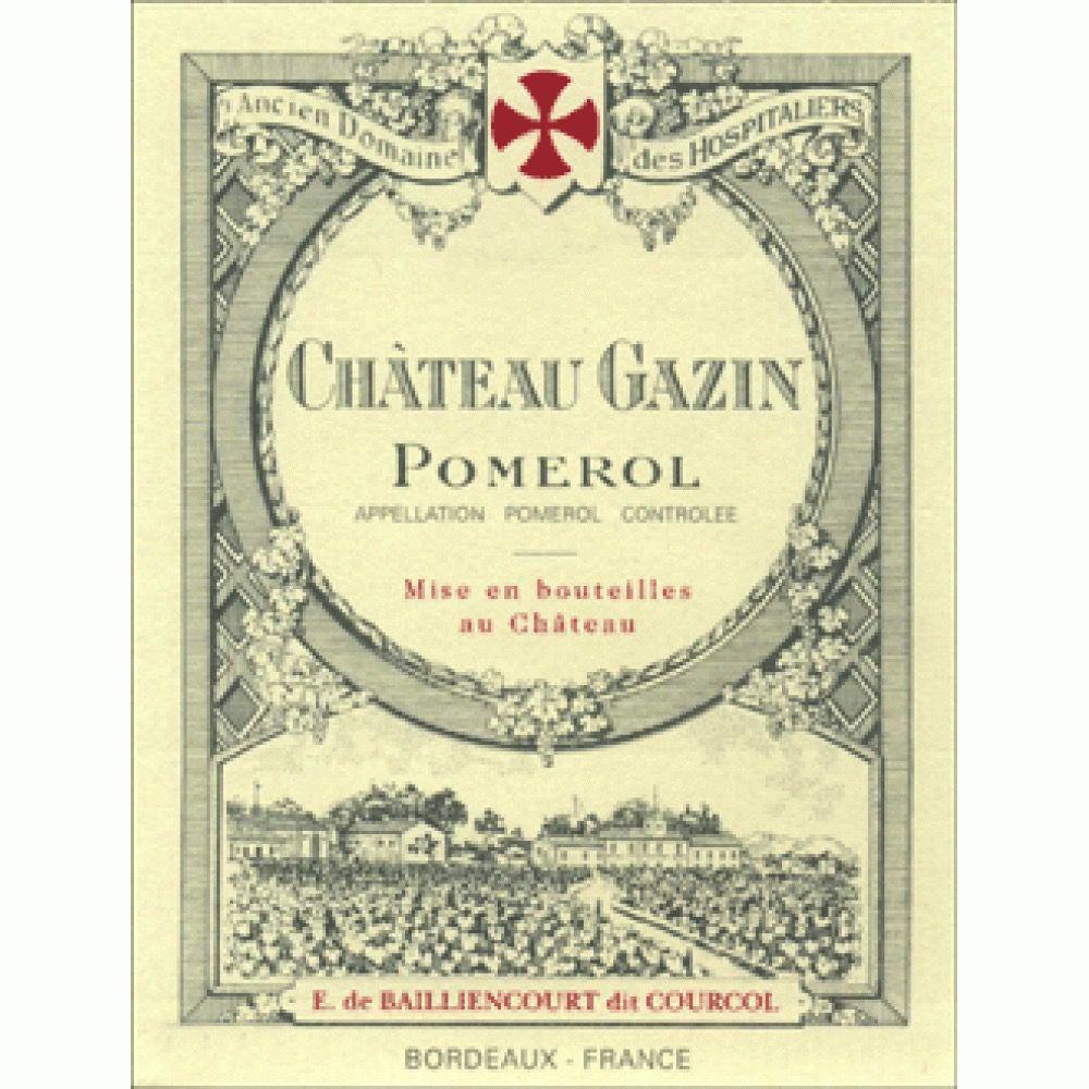 Wine Chateau Gazin Pomerol 2011