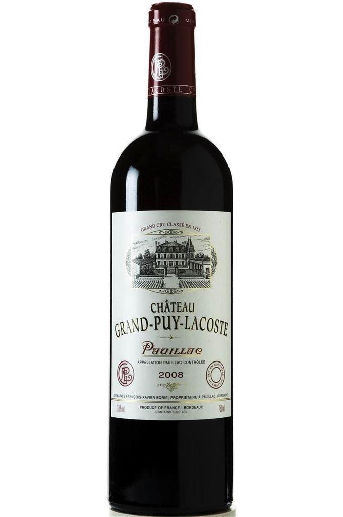 Wine Ch. Grand Puy Lacoste 2008 1.5L