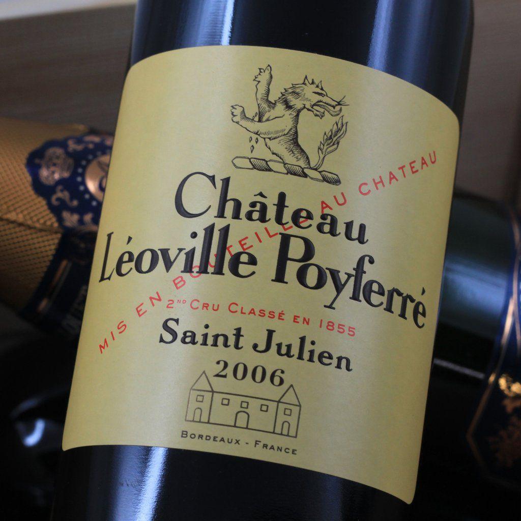 Wine Ch. Leoville Poyferre 2006