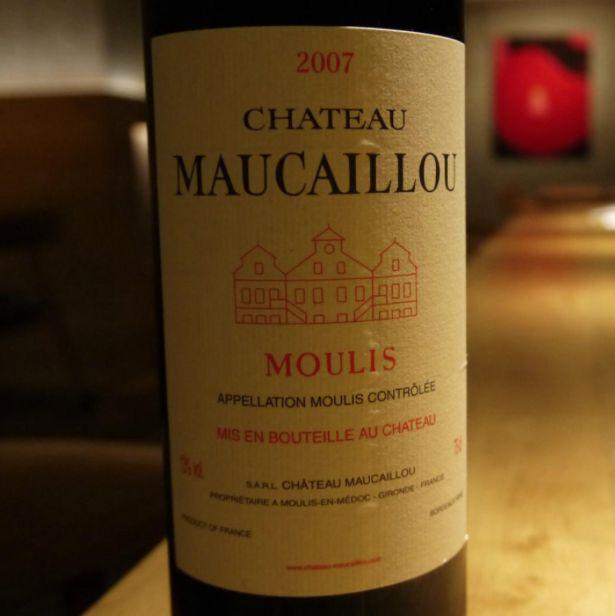 Wine Ch. Maucaillou 2007 1.5L