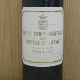 Wine Ch. Pichon Long.Comtes.Lalande 2007