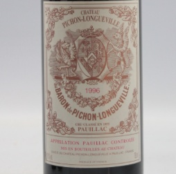 Wine Ch. Pichon Longueville Baron 1996
