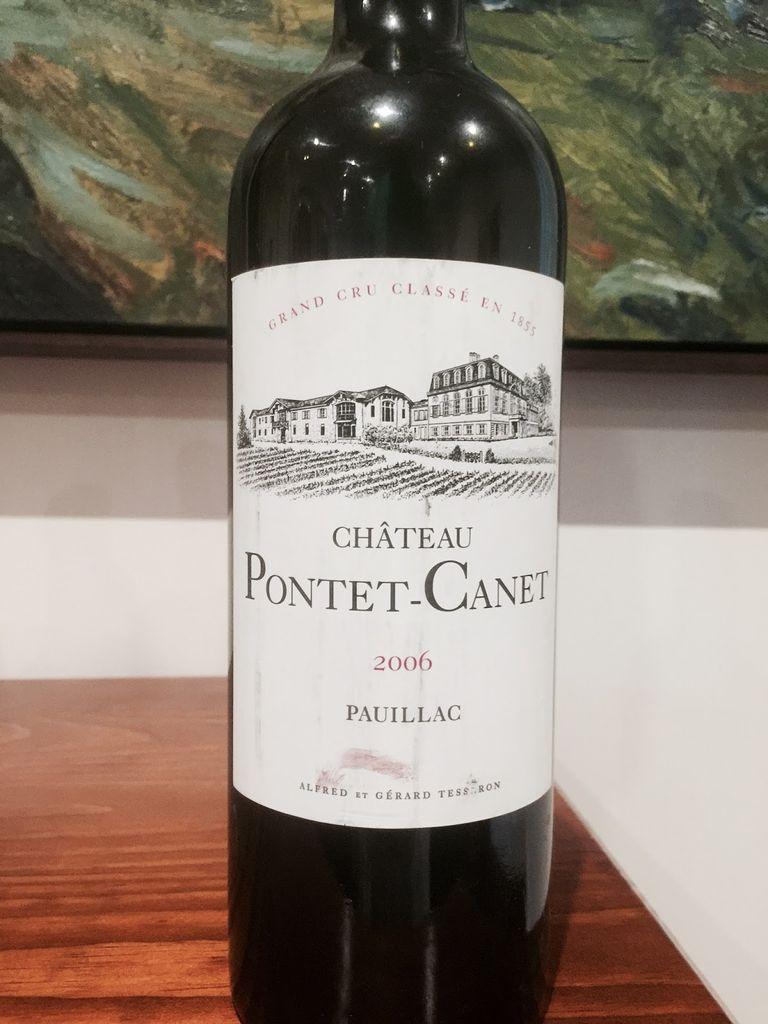 Wine Ch. Pontet Canet 2006