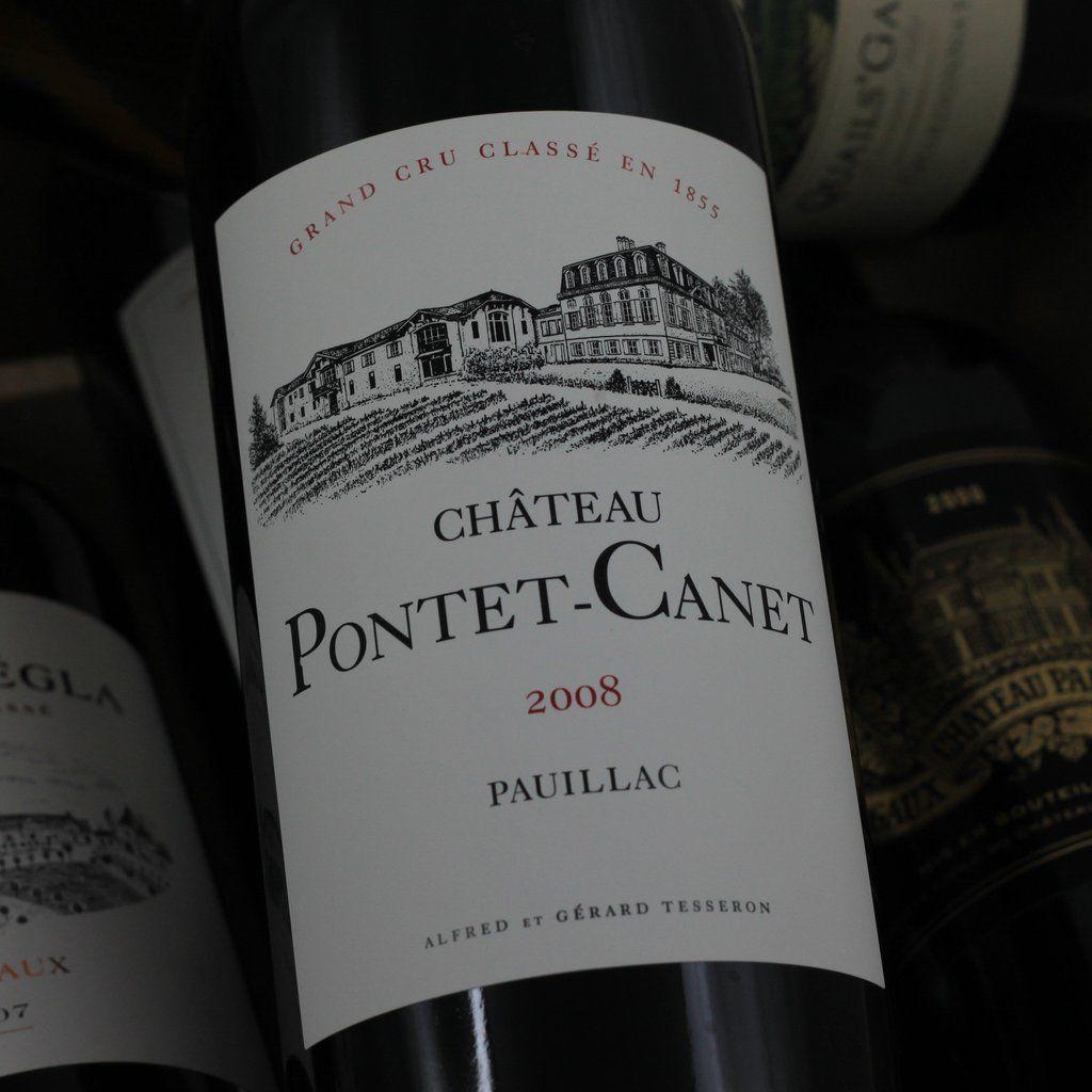 Wine Ch. Pontet Canet 2008