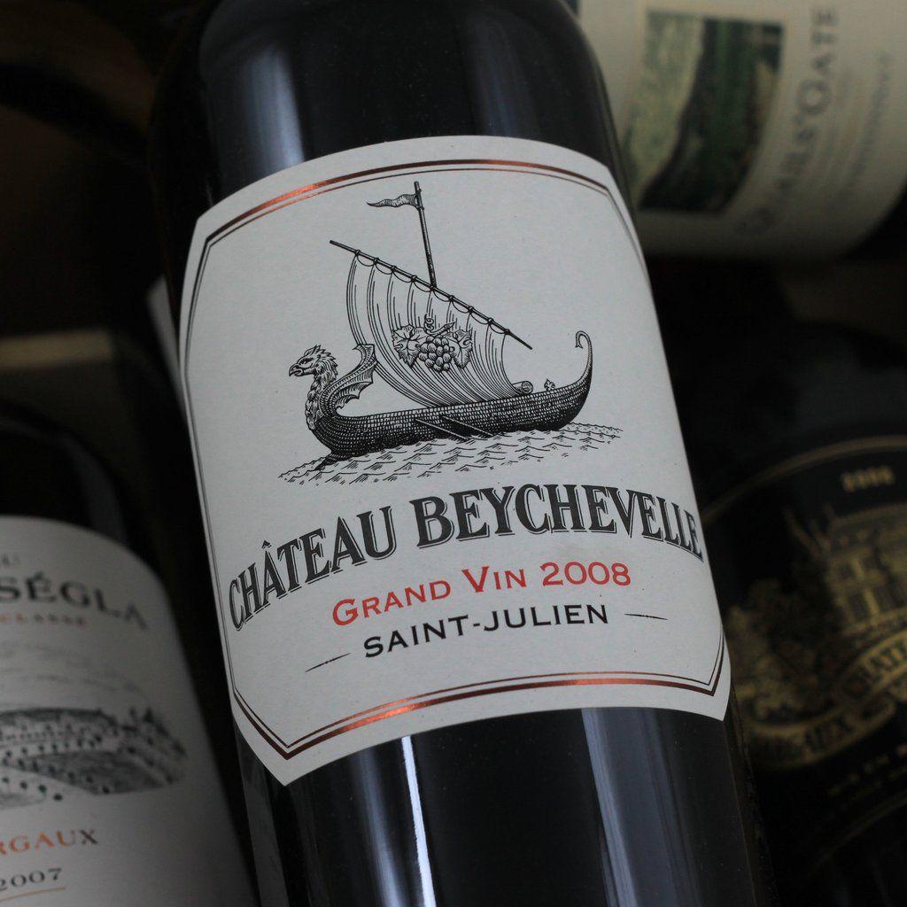 Wine Chateau Beychevelle 2008 1.5L